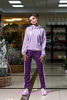 Костюм женский прогулочный кофта и штаны с лампасами