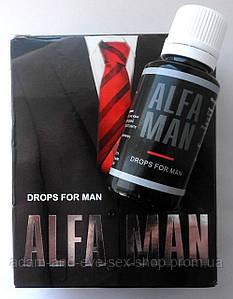 Alfa Man - Капли для повышения потенции (Альфа Мэн) 30 мл