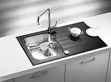 Кухонная мойка Alveus Glassix 10 (стекло черное) (с доставкой), фото 2
