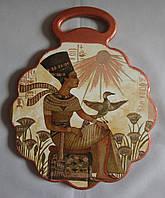 """Деревянная разделочная доска ручной работы для кухни """"Египет"""""""