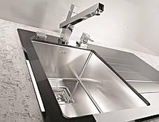 Кухонная мойка Alveus Glassix 10 (стекло черное) (с доставкой), фото 3