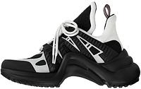 Женские кроссовки Louis Vuitton LV Archlight 'Black/White' (Луи Витон) черные