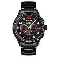 Skmei 9176 mclaren black gold мужские часы, фото 1
