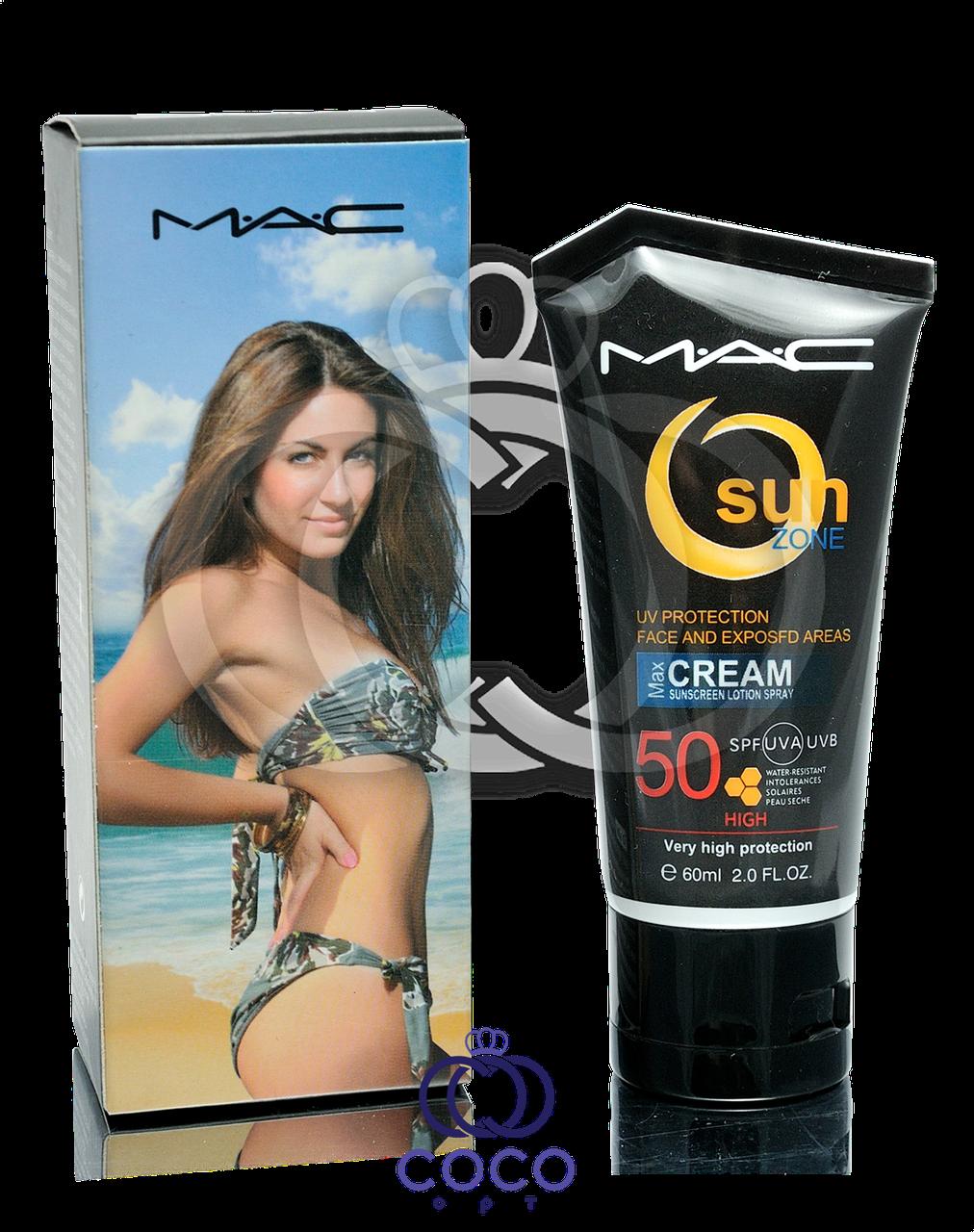Солнцезащитный крем для лица Mac Sun Zone Spf 50