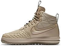 b0ff0acf6 Женские кроссовки Nike Lunar Force 1 Duckboot '17 Premium (Найк Лунар Форс)  хаки