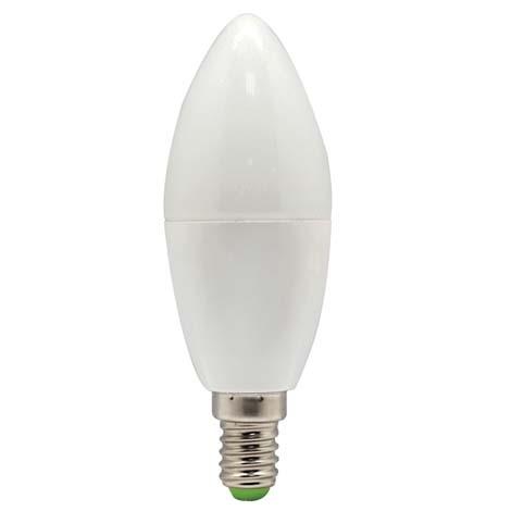 Светодиодная лампа Feron LB-97 C37 E14  5W 2700K 230V Код.58374