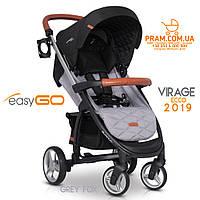EasyGO VIRAGE ECCO 2019 прогулочная коляска Grey Fox Серый, фото 1