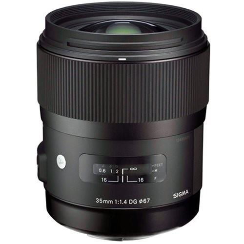 Объектив Sigma 35mm f/1.4 DG HSM ART для Sony ( на складе )