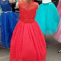 """Нарядное платье для девочки """" Бусинки """""""