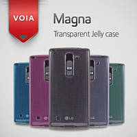 Чехол для LG Optimus Magna Y90 H502 - Voia Transparent Jelly case