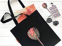 """Эко сумка с авторским принтом. Сумка шоппер. Сумка на подарок. Сумка для покупок. Сумка """"Протея""""."""