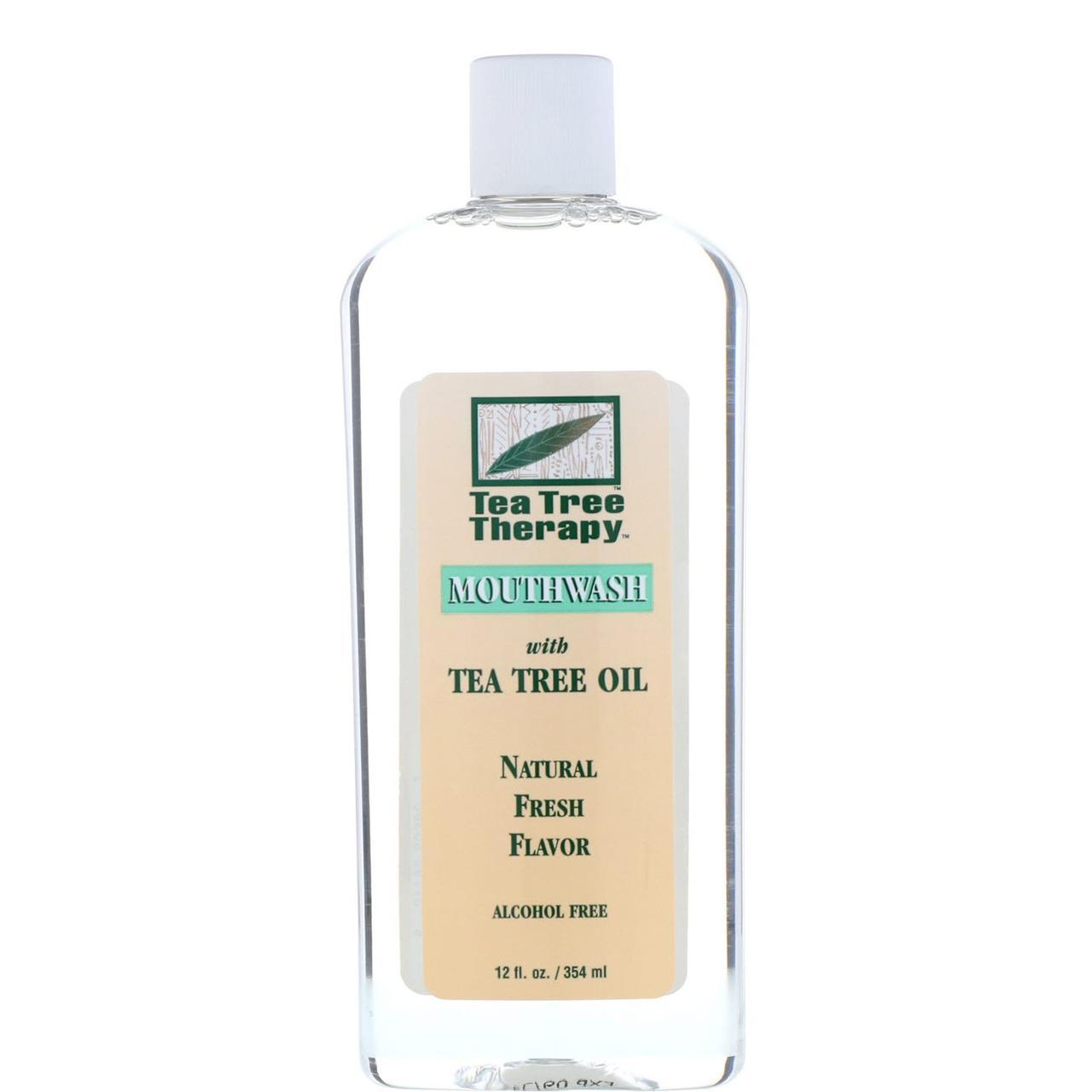 Жидкость для полоскания рта с маслом чайного дерева, Tea Tree Therapy, 354 мл