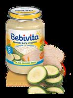 Бебивита (bebivita) овощное рагу с цыпленком (от 8 месяцев), 190г