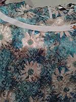"""Платье батального размера 52 : цвет """" берюза """", фото 1"""