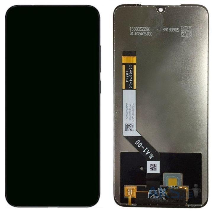 Дисплей Xiaomi Redmi Note 7, с тачскрином, Black