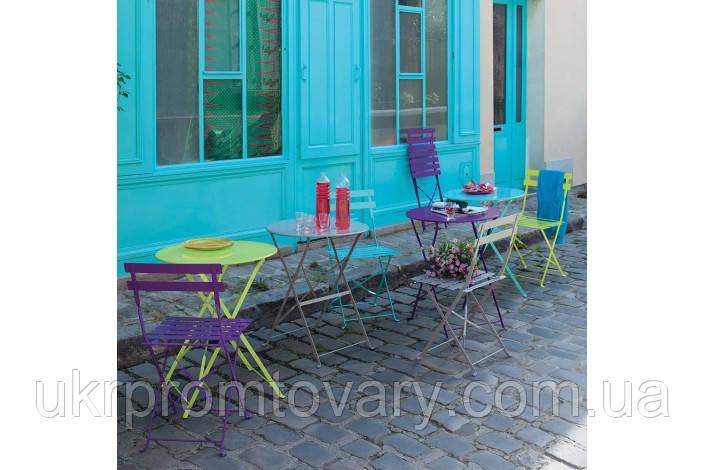 Стол уличный Confetti фиолетовый 58 см 122238 Maisons 2017 -- Наличие в Киеве купить Скидки Наличные, с НДС