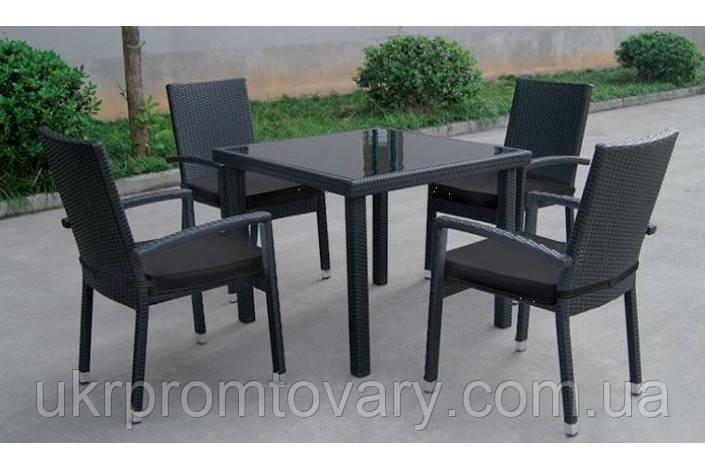 Стол обеденный SANTA Miloo черный -- Наличие в Киеве купить Скидки Наличные, с НДС