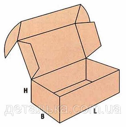 Картонные коробки с ручкой 310*255*80 мм., фото 2