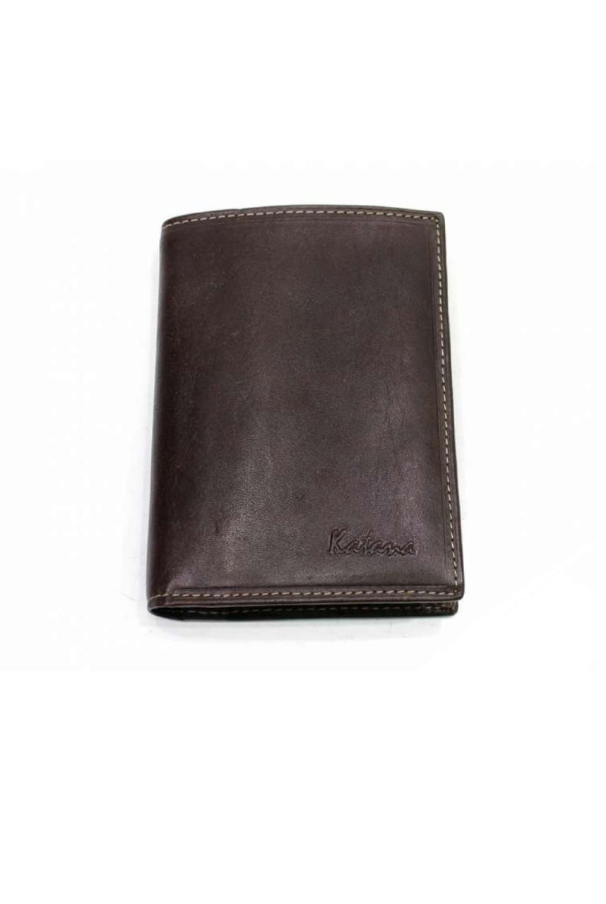 Портмоне для автодокументов кожаное коричневый Катана 853046.