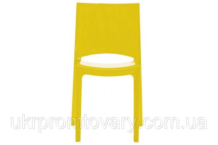Стул SUNSHINE S6215GB GRANDSOLEIL желтый -- Наличие в Киеве купить Скидки Наличные, с НДС