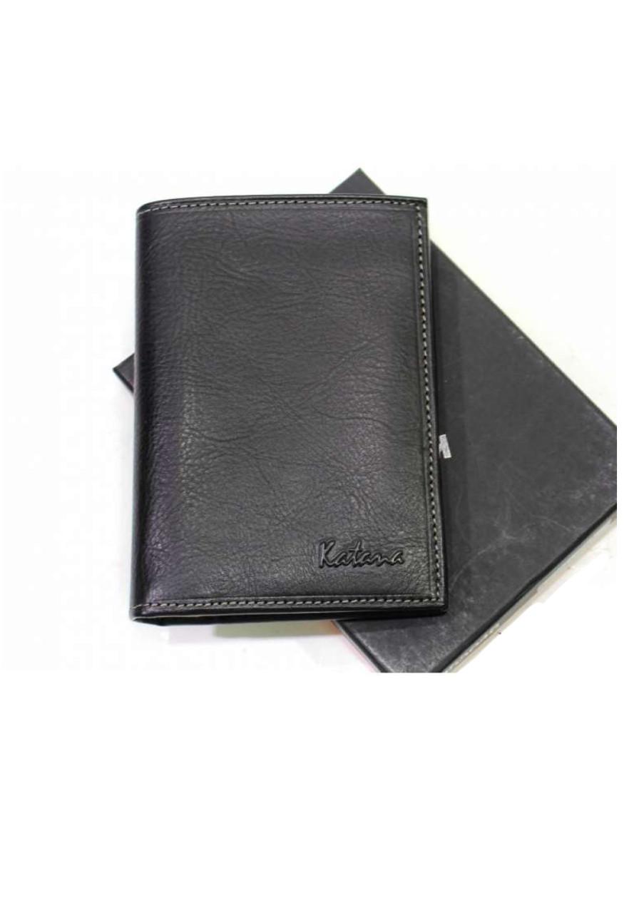 Мужской кошелёк из натуральной кожи Katana