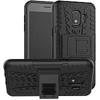 Чехол Armor для Samsung Galaxy J2 Core 2018 / J260 бампер противоударный черный
