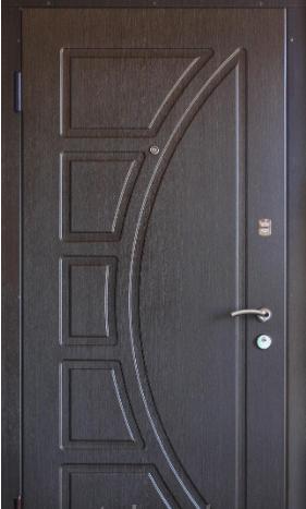"""Входная дверь для улицы """"Портала"""" (Люкс Vinorit) ― модель Сфера"""
