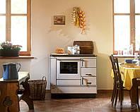 Отопительно варочная печь камин на дровах ( Шпор ) KVS Moravia 9100  Белая., фото 1