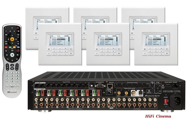 Russound KT2-88 Controller Amplifier System - kit with MDK-C6
