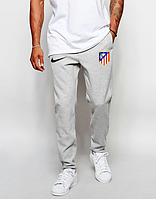 Мужские футбольные штаны Атлетико Мадрид, Atletico Madrid, серые