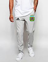 Мужские футбольные штаны Сборной Аргентины, Argentina, серые