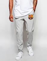 Мужские футбольные штаны Барселона, Barcelona, серые