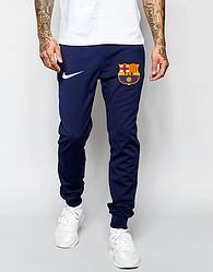 Мужские футбольные штаны Барселона, Barcelona, синие