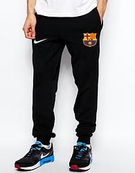 Мужские футбольные штаны Барселона, Barcelona, черные