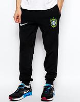 Мужские футбольные штаны Сборной Бразилии, Brazil, черные
