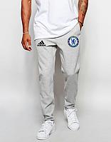 Мужские футбольные штаны Челси, Chelsea, серые