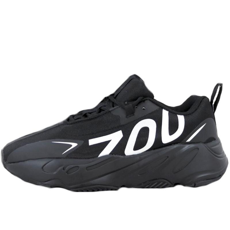 Кроссовки мужские Adidas Yeezy Boost 700 Wave Runner (чёрный) Top replic