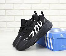 Кроссовки мужские Adidas Yeezy Boost 700 Wave Runner (чёрный) Top replic, фото 3