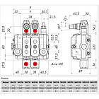 Гидрораспределитель секционный Серия SN-3 YOULI Hydraulic, фото 3