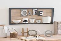 Панно 30 x 57 cm CAFE серое 164031 Maisons 2017 -- Наличие в Киеве купить Скидки Наличные, с НДС