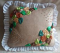 """Интерьерная подушка """"Розы2"""", фото 1"""