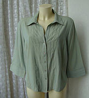 Блузка рубашка женская вискоза хамелеон батал бренд Wallis р.54, фото 1