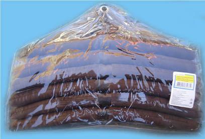 Тремпель сатиновый трехцветный