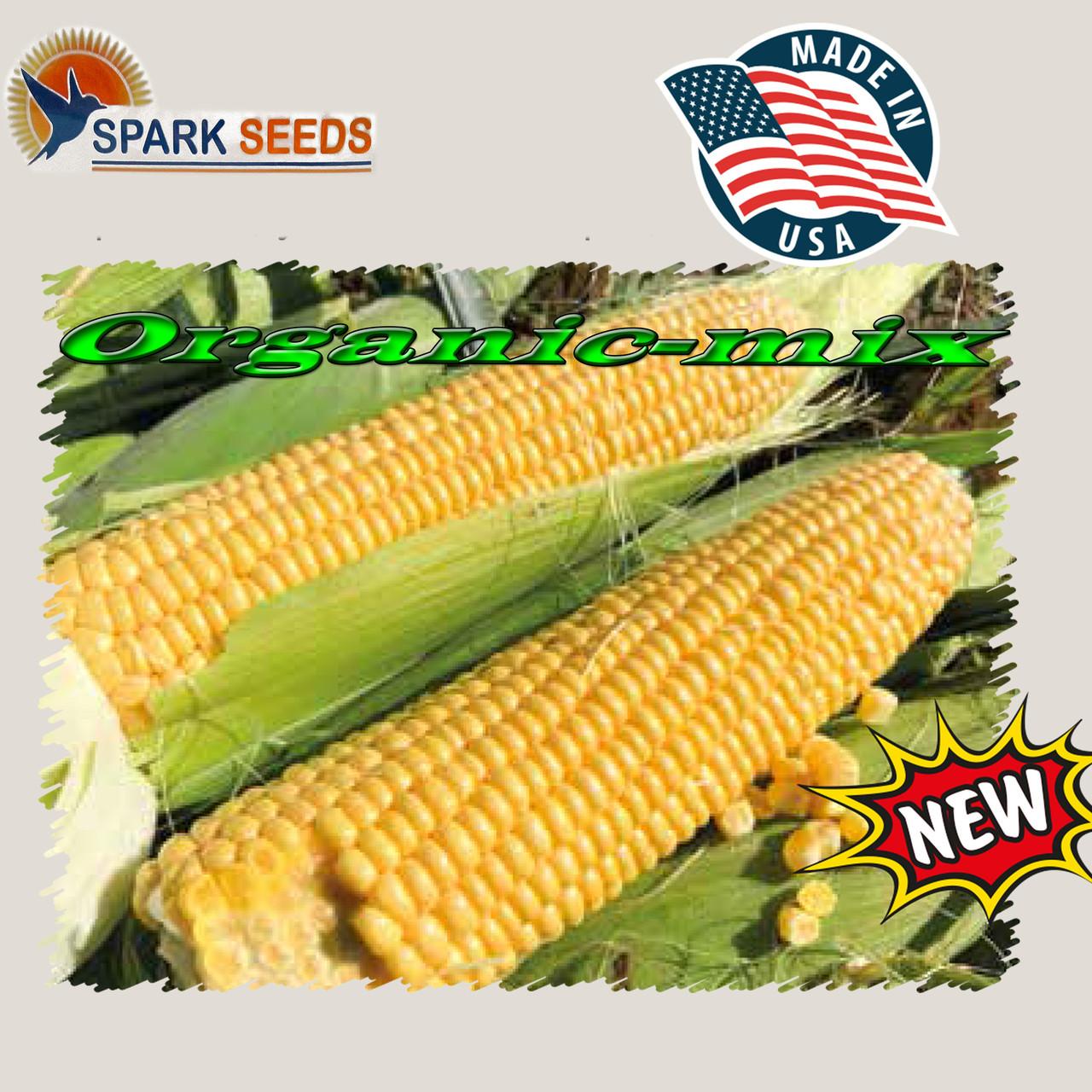 Ранняя, сверхмощная сахарная кукуруза 1801 F1 (США), фермерская упаковка (2500 семян)