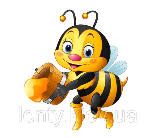 """Вырубка малая """"Пчелка с медом"""" 13х15 см"""