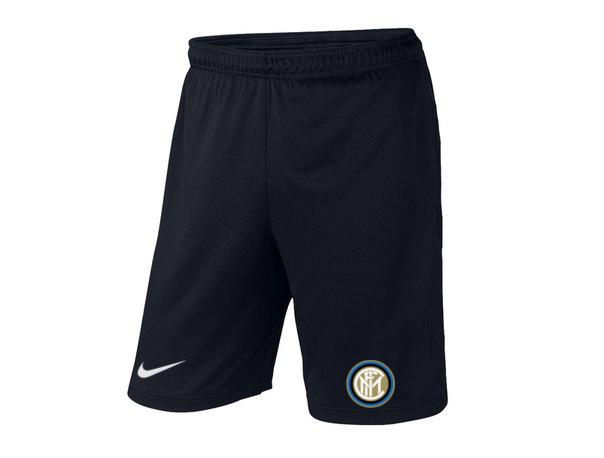 Мужские футбольные шорты Интер, Inter, черные