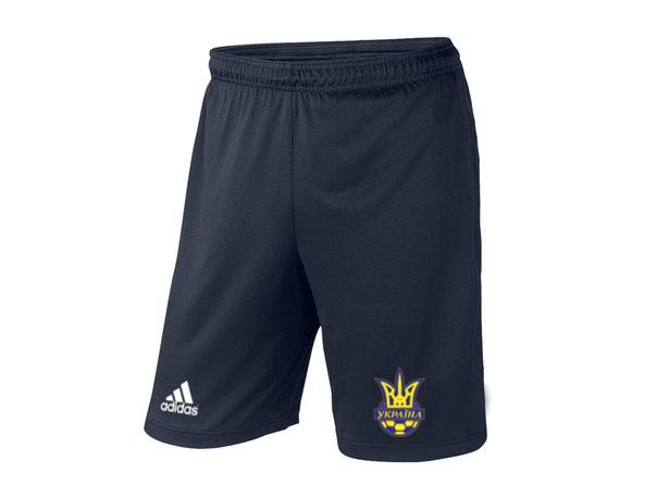 Мужские футбольные шорты Сборной Украины, темно-синие