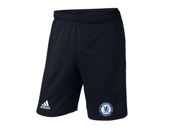 Мужские футбольные шорты Челси, Chelsea, черные