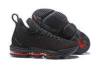 Мужские баскетбольные кроссовки Nike Lebron 16 Black/Red