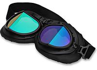 Ретро мото очки KSmoto GL-14 (линзы хамелеон) \ Код KS05018